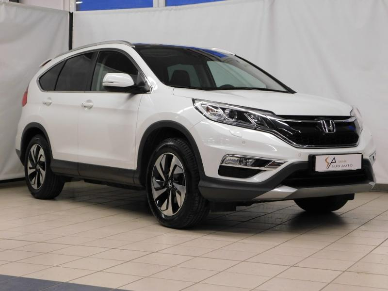 Photo 1 de l'offre de HONDA CR-V 1.6 i-DTEC 160ch Executive Navi Plus 4WD à 23590€ chez Autovia Véhicules Multimarques