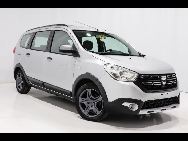 Dacia Lodgy 1.5 dCi 110ch Stepway 7 places Diesel ARGENT METAL Occasion à vendre