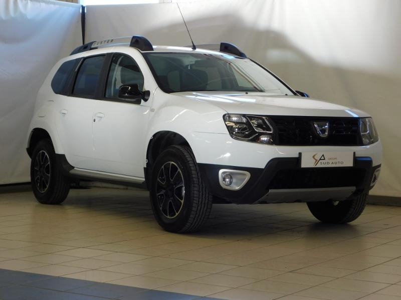 Dacia Duster 1.5 dCi 110ch Black Touch 2017 4X2 Diesel BLANC Occasion à vendre