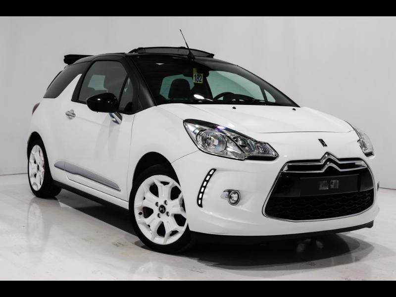 Citroen DS3 Cabrio PureTech 82ch So Chic Essence BLANC METAL Occasion à vendre